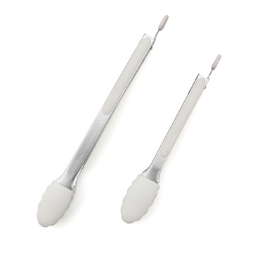 Non-Stick Heavy Duty Locking Plastic Tongs