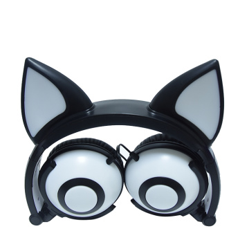 New Arrival Fox Ear Headphone with Colorful LED