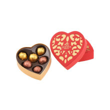 Rigid CMYK Printing Heart-shape Gift Box for Chocolate