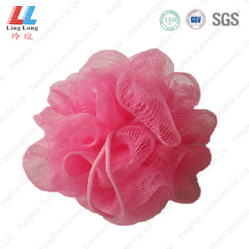 Shine mesh single style bath sponge