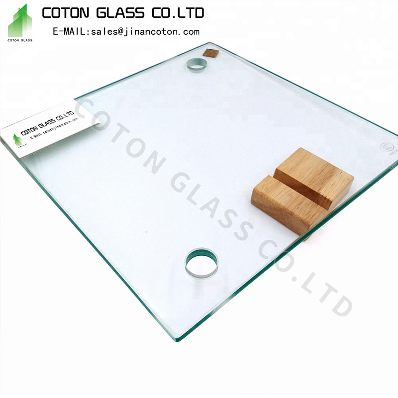 4mm 5mm clear tempered glass