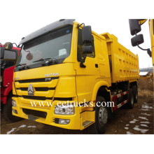 100% Original Factory for Sinotruk Howo 10 Wheel Dump Trucks SINOTRUK Heavy Duty 30ton Truck Dumpers export to Qatar Suppliers