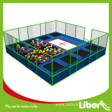 Large indoor velocity trampoline park price