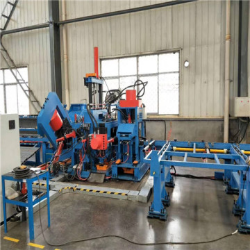 Vinkel kanal Sheet Steel CNC Punching Machine