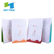 Food Grade Doypack Biodegradable Paper Plastic Bag