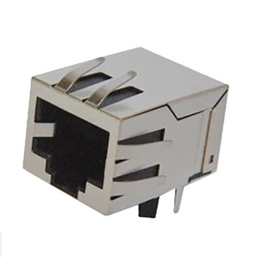 RJ45 Jack Shielded with EMI 1x1P Front 3.68