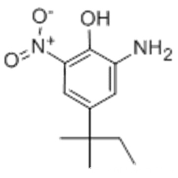 Phenol, 2-Amino-4- (1,1-dimethylpropyl) -6-nitro-CAS 83488-02-2