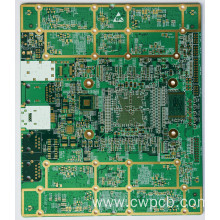 Medical devices display pcb