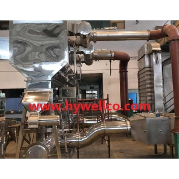 Food Granular Fluid Bed Dryer