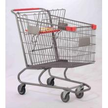 american type shopping mall cart trolley
