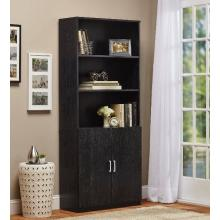 Wooden Office Room Divider Display Bookcase with Doors