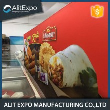 China for China Supplier of Velcro Display Board, Fabric Pop Up Banner, Trade Show Pop Up Display Stand Fast pop up expo fabric backdrop display stand supply to Netherlands Supplier