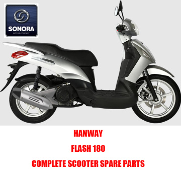 HANWAY Flash 50 Flash 125 Flash 180 Complete Motorcycle Spare Parts