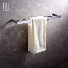 China for Bathroom Accessories,Bathroom Fittings,Bathroom Mixer Manufacturer in China HIDEEP Bathroom Accessories Pure Brass Towel Bar supply to South Korea Exporter