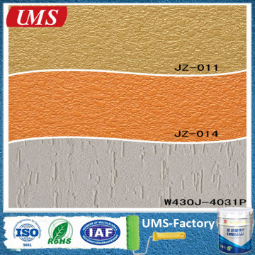 Textured spray concrete emulsion paint
