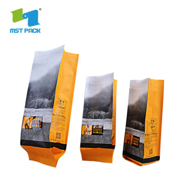 Side Gusset Foil Coffee Bags with Logo for Food/Coffee/Tea pouch