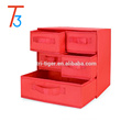 3 Shelf 5 Drawer Underwear Socks Sundries Folding Fabric Drawer Foldable Storage Box