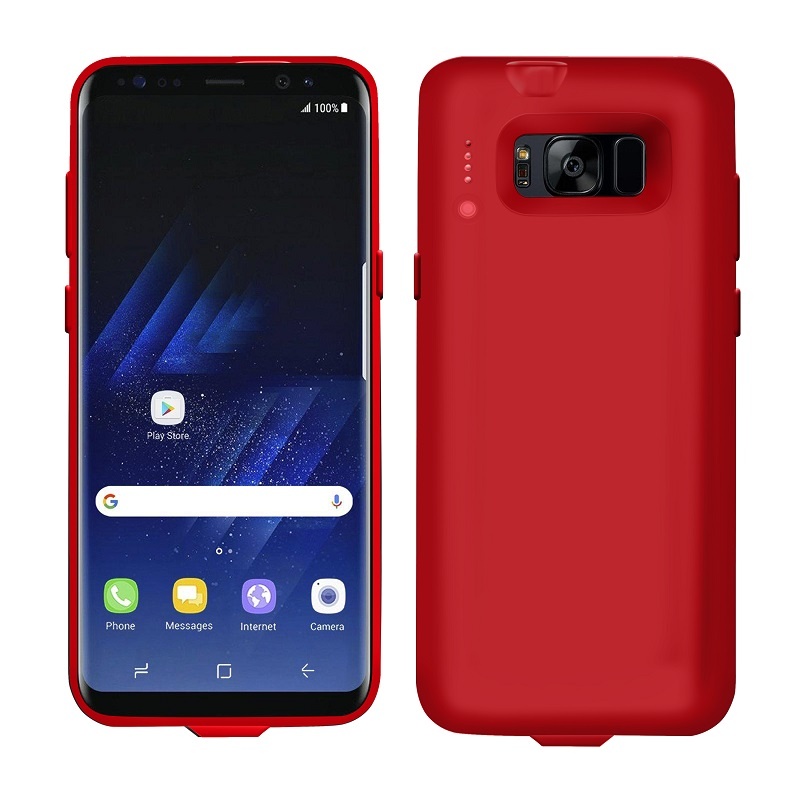 Samsung S8 case charger