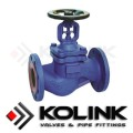 EN/DIN Bellows Seal Globe Valve