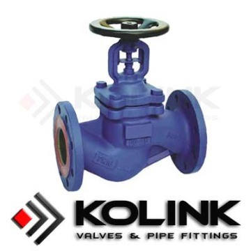 High Quality for Bellows Globe Valve Supplier EN/DIN Bellows Seal Globe Valve export to Tunisia Supplier