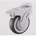 Europe, Hospital Bed Caster, Twin Wheels Medical Caster