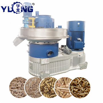 YULONG XGJ560 eucalyptus wood pellet mill
