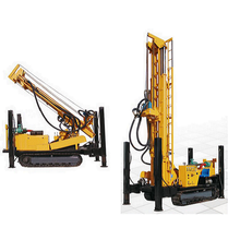Ground hole drilling rig wireline drilling rig