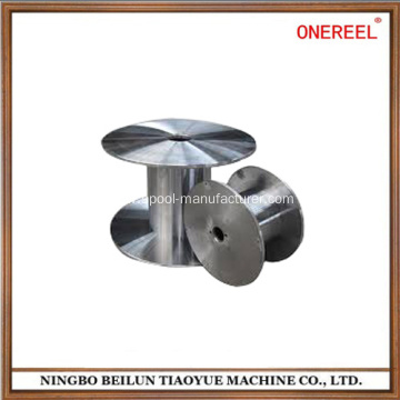 Steel electrical wire thread bobbin