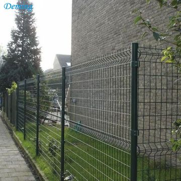 Powder Coated Wire Mesh Panel 3D for Fencing