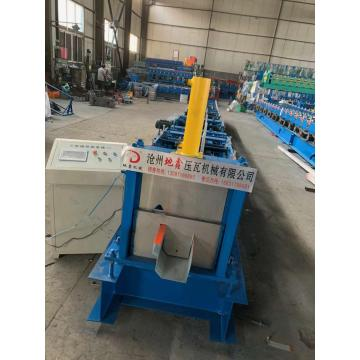Automatic rain gutter roll forming machine