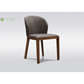 Dark Walnut Solid Wood Dining Chair