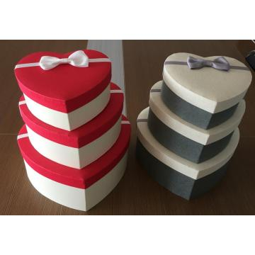 Heart Shape Cardboard Gift box
