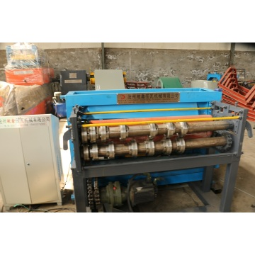 Automatic slitting forming machine