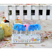 Cartoon animal Smokeless birthday Cake candle