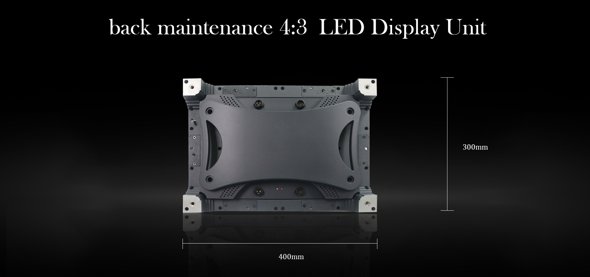Indoor UHD led display screen 400x300-2