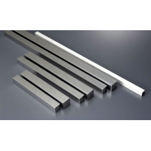 Aluminium extrusion square bar 7055 T6