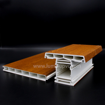 Factory PVC Profiles With Laminated Colors