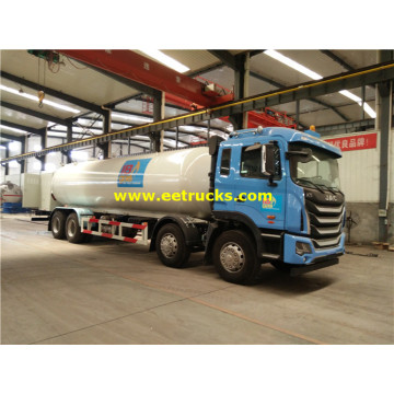 25000 Liters 8x4 Mobile Propane Filling Trucks