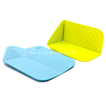 China for Nonslip Cutting Board PP Folding chopping board with Colander supply to Netherlands Importers