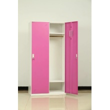 metal 2 door locker for cloth