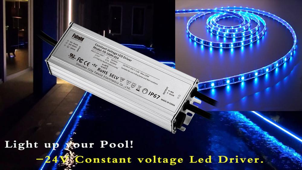 Constant Voltage Swimming Pool Driver