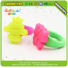 translucence Eco PVC Material 3d eraser ring