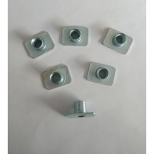 Good Quality for Metal Fasteners Stamped Parts Carbon steel zinc plated weld nuts supply to Faroe Islands Manufacturer