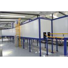 Doors automatic powder painting equipment