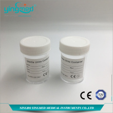 China for Disposable Sterile Urine Container 60ml Urine container with screw cap export to Solomon Islands Manufacturers