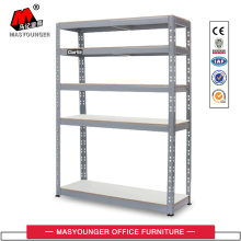 grey light goods rack