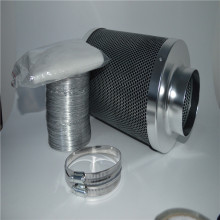 Active carbon air filter cartridge