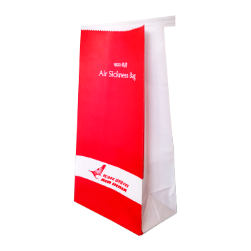 airlinre airsickness bag
