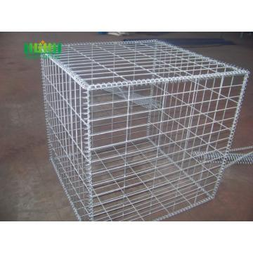 Welded  mesh gabion baskets