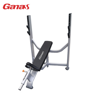 Commercial Gym Exercise Equipment Olympic Incline Bench